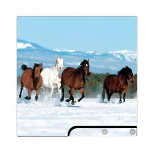 Mountain Running Horses Decorative Protector Skin Decal Sticker for