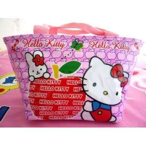 Sanrio Hello Kitty (Apple) Pink Lunch Bag Bonnie Bell Smackers Berry