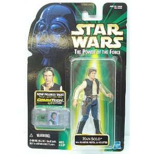 Star Wars 1999 CommTech Han Solo Carded Toys & Games
