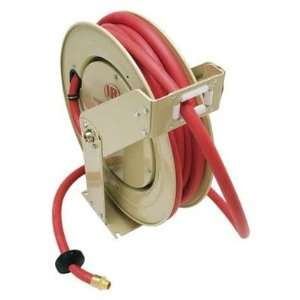 Low Pressure Supreme Duty Hose Reel with   Air / Water Size 50 D x 0