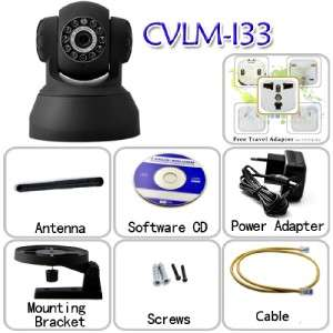 IP Surveillance Camera with Angle Control & Motion Detection