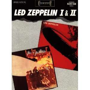 Led Zeppelin I & II (Bass Guitar) [Paperback] Led Zeppelin Books
