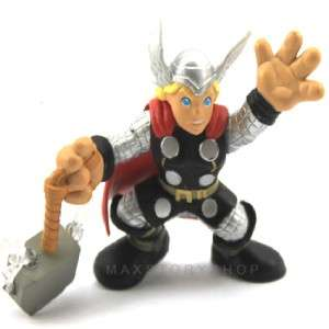 FREE SHIP MARVEL SUPER HERO SQUAD THOR ACTION FIGURE FW41