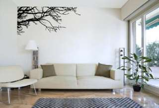 VINYL WALL DECAL STICKER ART TREE TOP BRANCHES DECOR 894708001854