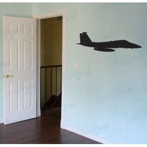 Vinyl Wall Art Decal Sticker Fighter Jet Bomber