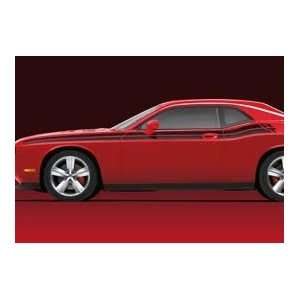 2011 2012 Dodge Challenger Applique Decal Kit Body Side Stripes Mopar