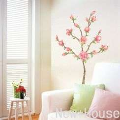 Flower art Wall Sticker DIY Mural Deco Decal Z123