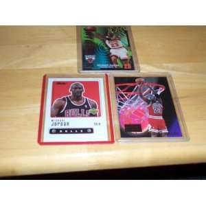 Michael Jordan lot of 3 cards 99/00 upper deck retro #1, 97/98 skybox