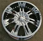 RVM 349 22 CHROME RIMS WHEELS DODGE RAM 1500 2WD 4WD