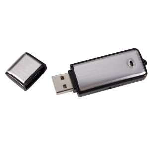 USB Flash Drive w/ Built In Audio Recorder