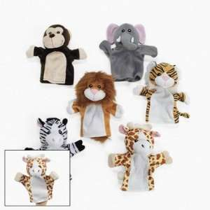 12 Animal Hand Puppets   Novelty Toys & Plush Toys & Games