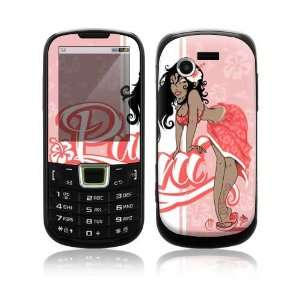 Puni Doll Pink Decorative Skin Cover Decal Sticker for