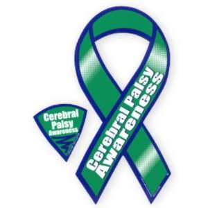 Cerebral Palsy Awareness Ribbon Magnet