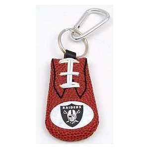 Oakland Raiders NFL Classic Football Keychain