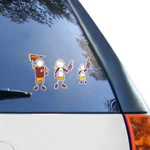 NFL Washington Redskins 12 x 12 Family Car Decal Sheet