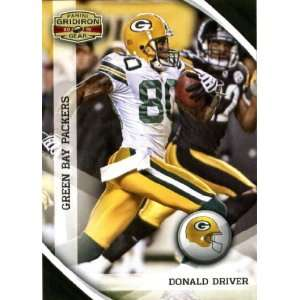 2010 Panini Gridiron Gear #52 Donald Driver   Green Bay