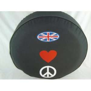 SpareCover® Brawny Series   UJ Heart Peace 30 Tire Cover