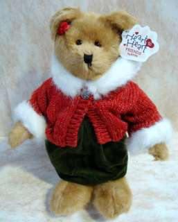 BOYDS BEARS Faith PLUSH Heart CHRISTMAS Friend 902018