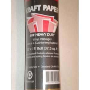 Paper 60# Heavy Duty 2.5 x 15 Roll (37.5 sq ft)