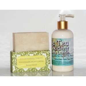 Blemish Relief White Clay Shea Butter Soap & Triple Tea Anti Oxidant