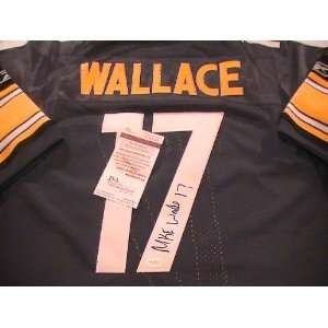 MIKE WALLACE SIGNED AUTOGRAPHED JERSEY PITTSBURGH STEELERS