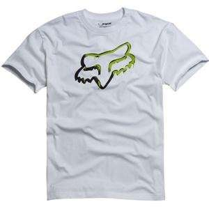 Fox Racing Ink Covered T Shirt   Small/White Automotive