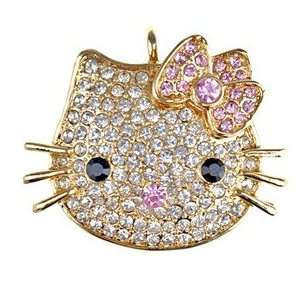 1GB U Disk Mini Kitty Design USB Flash Memory Drive with