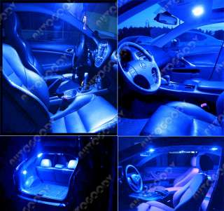 BLUE LED Lights Interior Package Deal for Mazda 6
