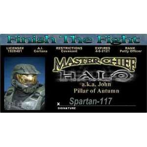 Halo   Master Chief   Collector Card
