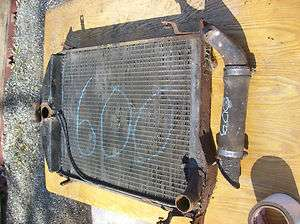 1930   1931 Ford Model A Coupe Radiator Vintage Restoration