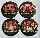 black red colour wheel center cap stickers kia 57mm returns