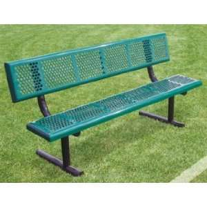 Perforated Steel Benches Patio, Lawn & Garden
