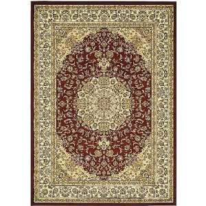 Safavieh Lyndhurst Collection LNH222B Red and Ivory Square