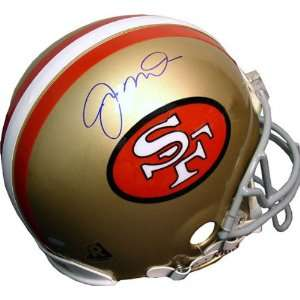 Joe Montana San Francisco 49ers Autographed Helmet Sports
