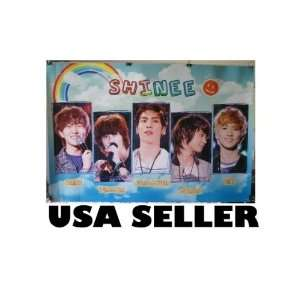 Shinee Rainbow POSTER 34 x 23.5 Korean boy band