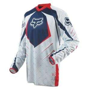 Fox Racing HC Jersey   2008   Medium/Navy/Grey Automotive