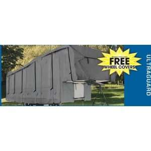 5th Wheel Toy Hauler Covers with Triple Layer Protection   Free Wheel