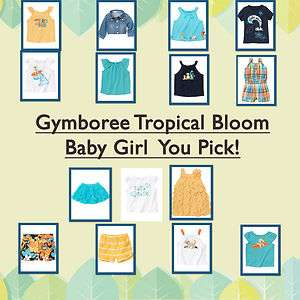 Tropical Bloom Baby Girl *NWT* You Pick 6 12 18 24 2T 3 4 5T