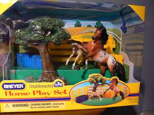 BREYER #5409 STABLEMATES HORSE PLAY SET    NEW IN BOX