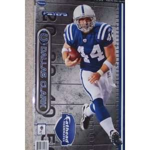Dallas Clark Fathead Indianapolis Colts Official NFL Wall