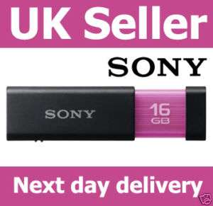 SONY MICRO VAULT CLICK 16GB USB PEN DRIVE FLASH 32GB