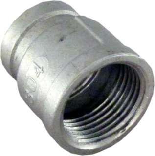 Coupling 1 x 3/4 Female Fitting 304 Stainless Steel Pipe Biodiesel