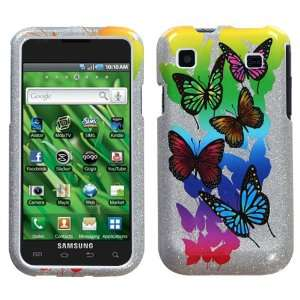 T959 (Vibrant) Butterfly Garden (Sparkle) Phone Protector Cover Case