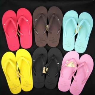 Summer Shining Candy Color Women Foam Flip Flop Slippers Sandals Shoes
