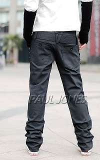 Fashion/Handsome PJ Men's Long Stylish slim fit Causal Pants