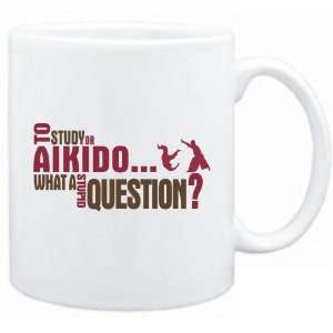 New  To Study Or Aikido  What A Stupid Question