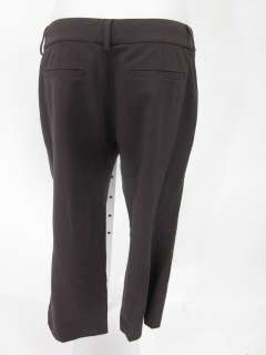 ELIE TAHARI Brown Wool Capri Dress Pants Slacks Sz 2