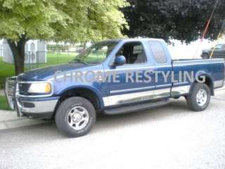 FORD F150 CHROME ROCKER PANELS 1997 2003