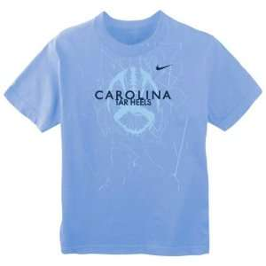 North Carolina Tar Heels Carolina Blue Nike Youth Official Football