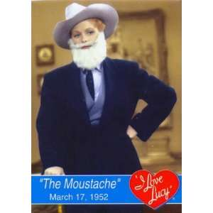 I Love Lucy   The Moustache, I Love Lucy Magnet, 2.5x3.5
